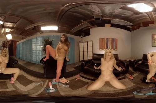 VR Porn World – HoloGirls Their First Time –  Anikka Albrite – August Ames – Karlie Montana – Adriana Sephora – Bending over – Masturbating